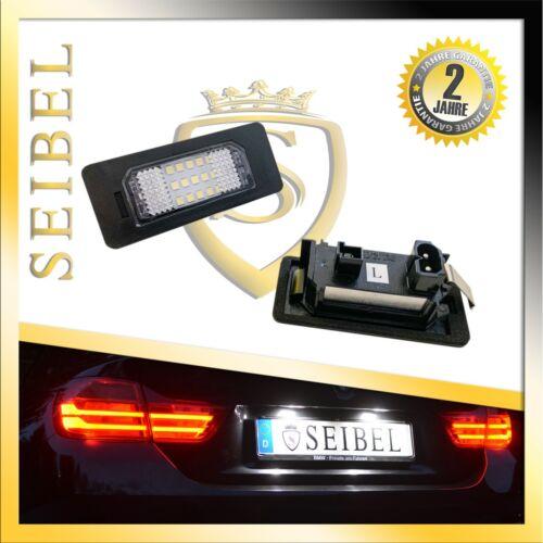DEL plaque d/'immatriculation éclairage Pour BMW 1er e82 coupe e88 Cabriolet code de la route libre