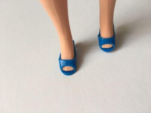 Pedigree Sindy Bout Ouvert Talon Bobine Chaussures à Enfiler Squishy sélection pieds 2.5 cm