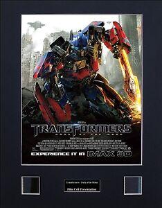 Transformers - Dark of the Moon Version 1 Photo Film Cell Presentation
