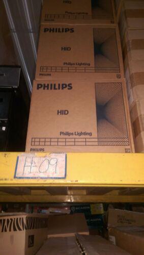 Lot of 6 Philips 400w Mercury Vapor Lamps H33CD-400-6PK