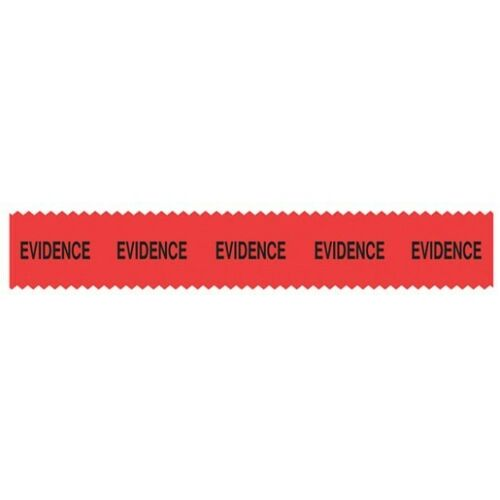Sirchie SM1000 Red SIRCHMARK Evidence Tape 54 ft