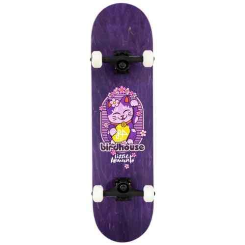 "Birdhouse STAGE 3 armanto Maneki Neko completa skateboard-Viola 8/"""