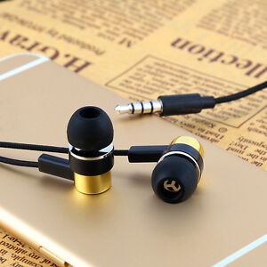Braided-Earphones-In-Ear-Earbuds-Exercise-Headphones-Bass-earset-Lot