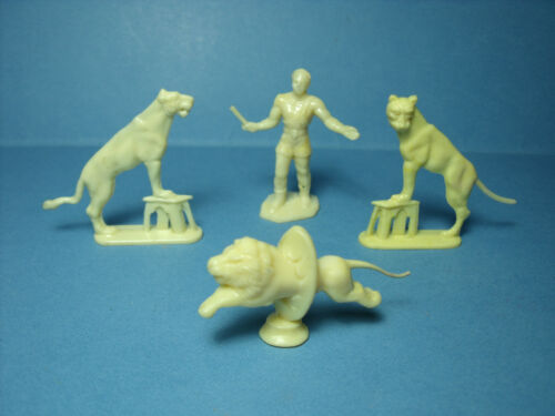 4 1//43 figurines set 210 circus pinder the Fauves vroom has paint