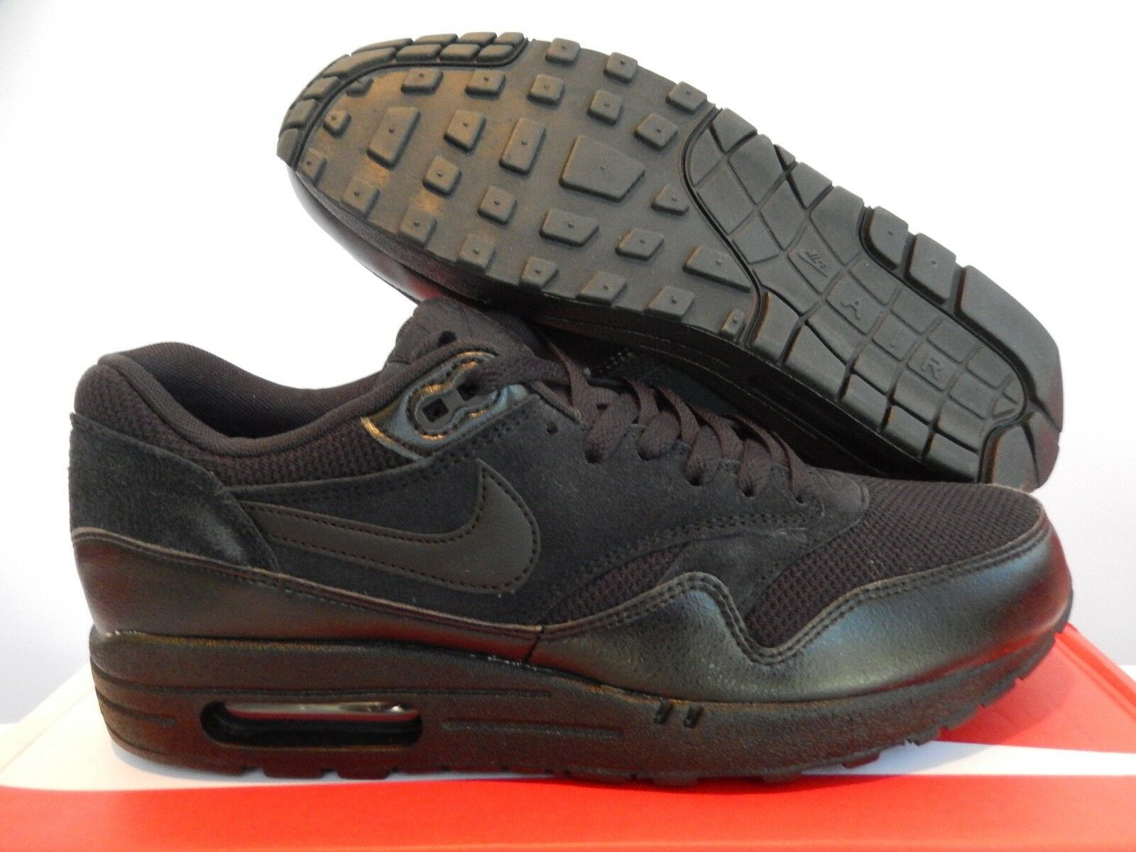 NIKE AIR MAX 1 ESSENTIAL ALL nero SZ 10 [537383-020] [537383-020] [537383-020] 536d28