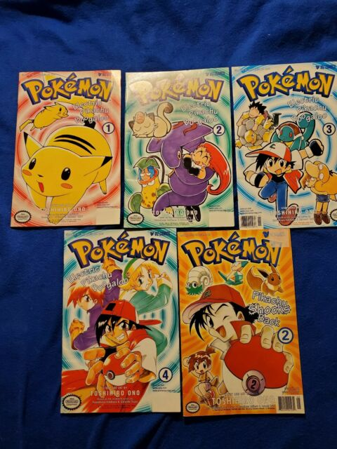 Pokemon Viz Comics Magazine Volume 1-4