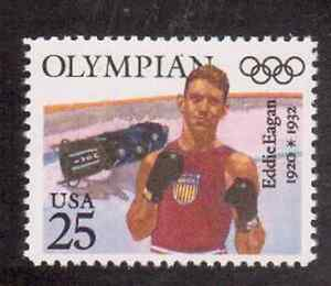 Scott-2499-25-Cent-Olympians-Eddie-Eagan-10-Stamps