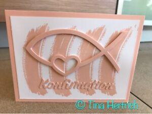Stampin up Glückwunschkarten zur Konfirmation  Karten 3d Handarbeit