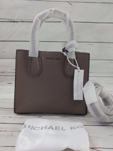 ff7db674990 30f6sm9m2l Michael Kors Mercer Medium Messenger Leather Bag Cinder ...