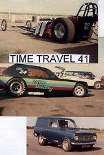 British Drag Racing History DVD... Santa Pod Funny Car Cannonball 1984