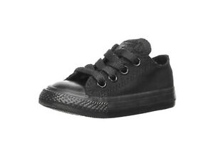 Converse-Infant-All-Star-Low-Top-Shoes-All-Black-Chucks-Toddler-Girls-714786