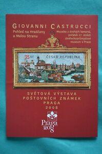 Bloc-feuillet-timbre-neuf-2008-Republique-Tcheque-Giovanni-Castrucci
