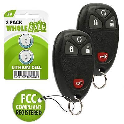 Fob Alarm Replacement For 2007 2008 2009 Pontiac Torrent Key
