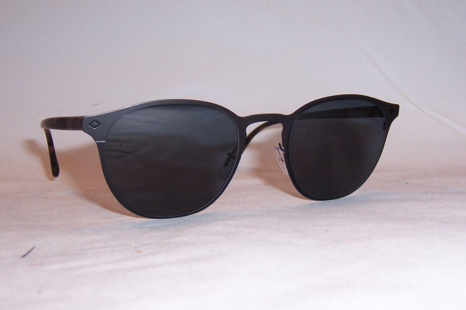 b0a5efb698 Giorgio Armani Sunglasses Ar6062 3001/87 Matte Black Frames Grey Lens 51mm