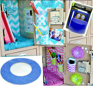Locker-Mirrors-Suction-or-Magnetic-Sets-School-Gym-Home-Office-Workshop-New