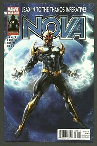 NOVA #36 (2010) Final Issue Lead-In To The Thanos Imperative Mike Deodato Cover