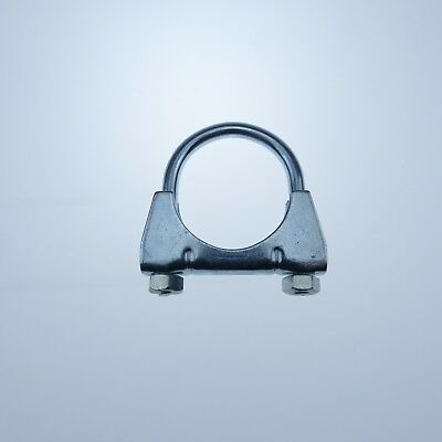 Clamp M10 Ø 80 mm Montageschelle Bügelschelle 10 x Auspuffschelle