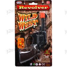 Wild West 8 Ring Shot Cap Western Cowboy Series Plastic Pistol Revolver Prop Gun