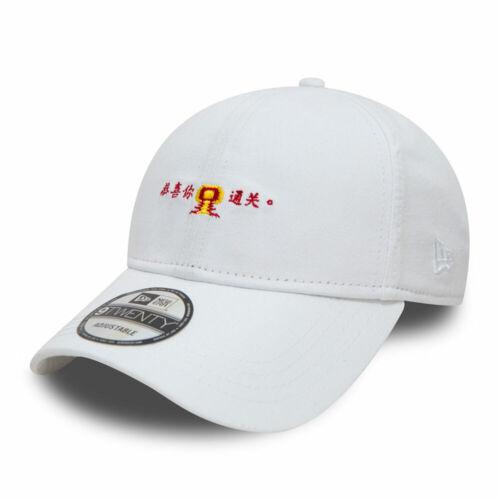 New Era Han Kjobenhavn White 9TWENTY Strapback Adjustable Cap
