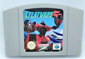 Lylat Wars juego de video juego de video para Nintendo N64 Pal probado