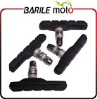 Coppia Pattini Freno Ant. + Post. V - Brake Bici Con Dado MTB / City Bike