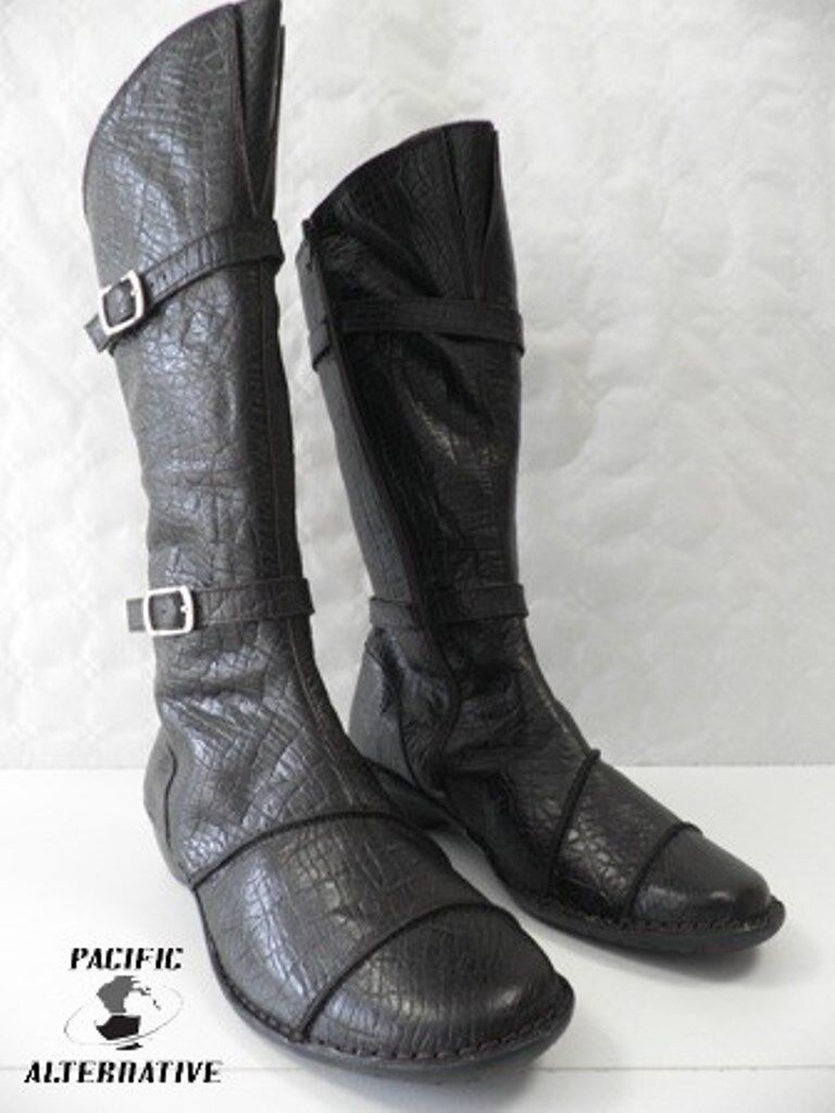 Bottes Bottes Bottes LUXAT NOXE brown FEMME cuir ville size 38 boots black woman NEUF d909b3