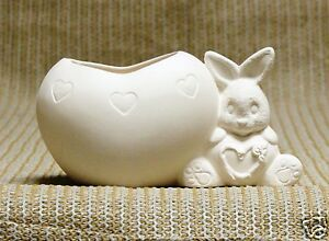 Ceramic-Bisque-Heart-Belly-Bunny-Clay-Magic-Mold-J1024-U-Paint-Ready-To-Paint