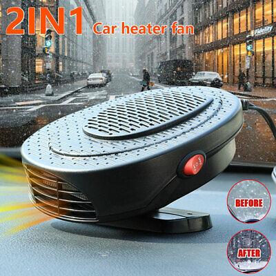 Heizlüfter 12V 150 Watt Auto Zusatzheizung Keramik Heizer Scheibenenteiser