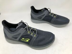 960b129c442f New!!! Men s Skechers SYNERGY 2.0 - CHEKWA (52652) Gray  green trim ...