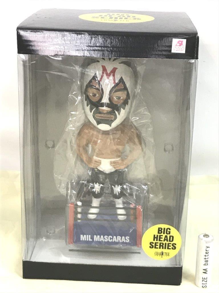 Mil Mascaras personnage produit Big Head Series Bobbing Head Doll Figure ver.1