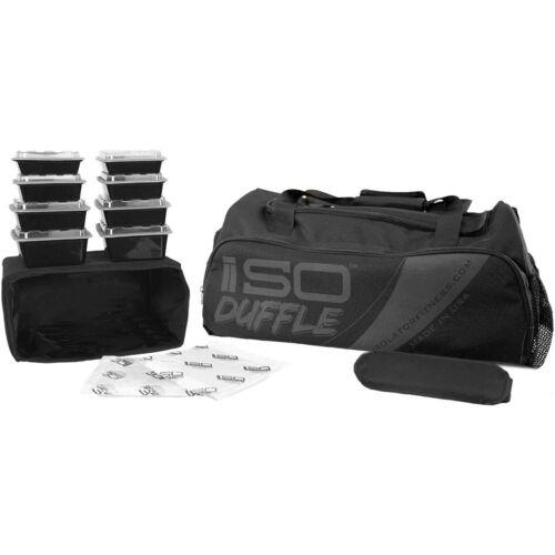 Isolator Fitness ISODUFFLE Meal Management Gym Bag