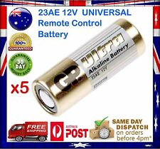 5x GP 23A 23AE MN21 23 A23 23GA 12V Remote Control - Ultra Alkaline Battery