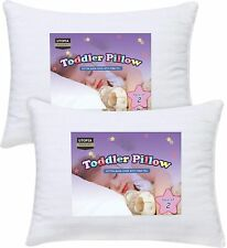 Toddler Pillows 2 Pack Baby Pillow Infant Pillow Cotton Cover Utopia Bedding