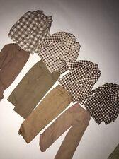1972 Mod Hair Ken Suits Plaid Jacket Pants Original Outfits 4224 Variations