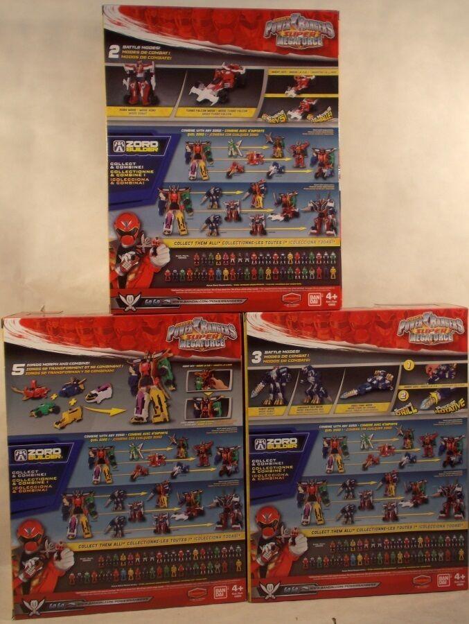 energia Rangers Megaforce Legendary Megazord Q Rex Turbo Falcon tutti tutti tutti 3 Combine aad1b1