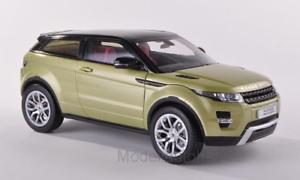Land Rover Range Rover Evoque met. - Light Green 1 18 Welly GTA Edition    NEW