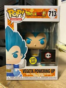 FUNKO-POP-VEGETA-POWERING-UP-713-GITD-GLOW-DARK-DRAGON-BALL-Z-CHALICE-EXCLUSIVE