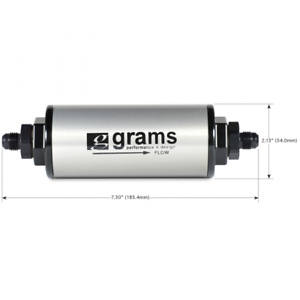 G60-99-0026 Grams Performance 20 Micron 6AN Fuel Filter