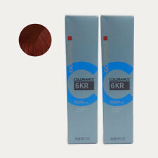 Goldwell Colorance Demi Hair Color tube 2.1 oz 6KR - Pomegranate *2 set*