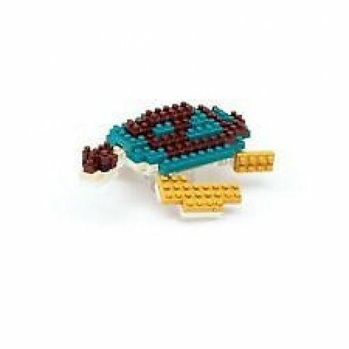 Green Sea Turtle Nanoblock Miniature Building Blocks New Sealed Pk NBC 081