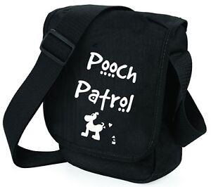 Dog-Bag-Pooch-Patrol-with-Dog-Shoulder-Bags-Handbag-Birthday-Gift-for-Dog-Walker