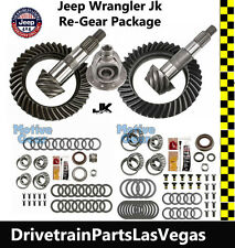 Jeep Wrangler JK Dana 44 + 30 Jeep Gear Set 5.13 Ratio + Master Kit + F Carrier