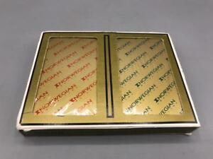 Vintage-Gemaco-Norwegian-Cruise-Lines-Double-Deck-Playing-Cards-Bridge-Sealed