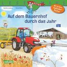 LESEMAUS 90: Auf dem Bauernhof durch das Jahr von Sandra Ladwig (2014, Taschenbuch)