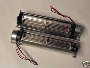 Pair-Packed-Crossflow-8-Inch-12-Volt-12V-12VDC-Cooling-Fans-Car-Truck
