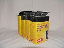 4x Inkjet Druckpatrone Druckertinte kompatibel mit Canon BCI-6BK black