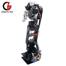 6dof Aluminium Robot Clamp Claw Mount Kit Mechanical Robotic Arm For Arduino