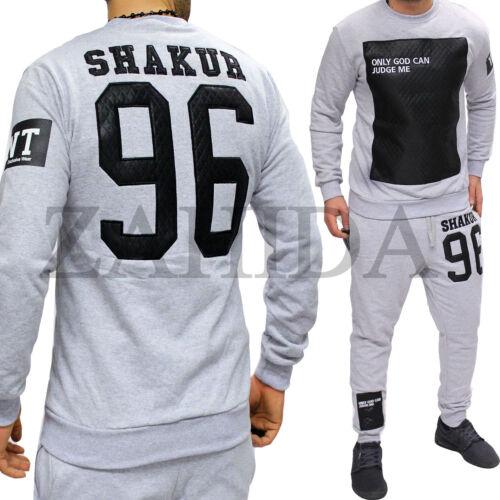 Men/'s Tracksuit Jogging Pants Jacket Trackies Trackies Tupac Shakur Hip Hop