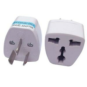 Image Is Loading Universal Travel Plug Adapter Au Australian To