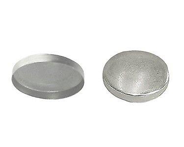"Size 22-9//16/"" dia. 144 QTY C.S.Osborne Aluminum Button Shells MPN # 77284"